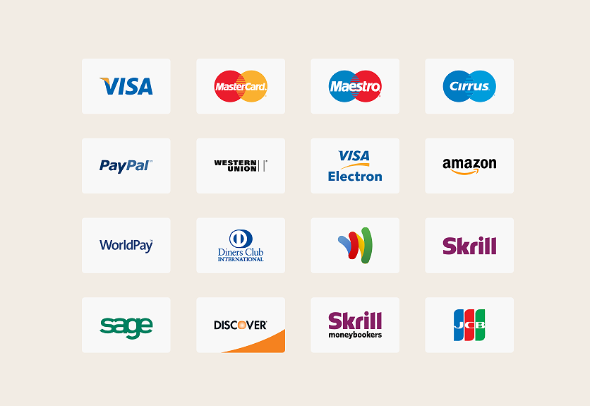 e-commerce website, payment method