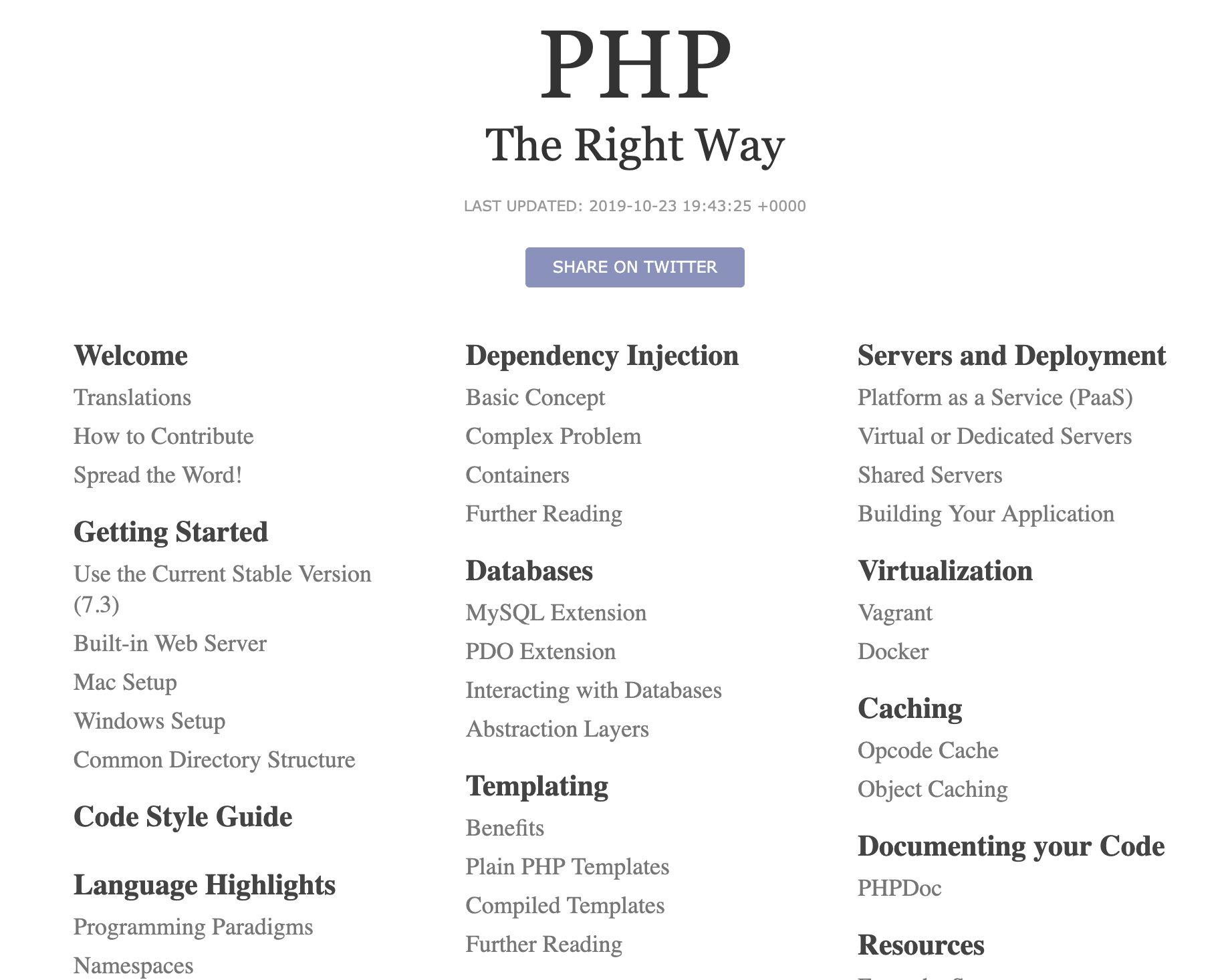 php developer, php courses