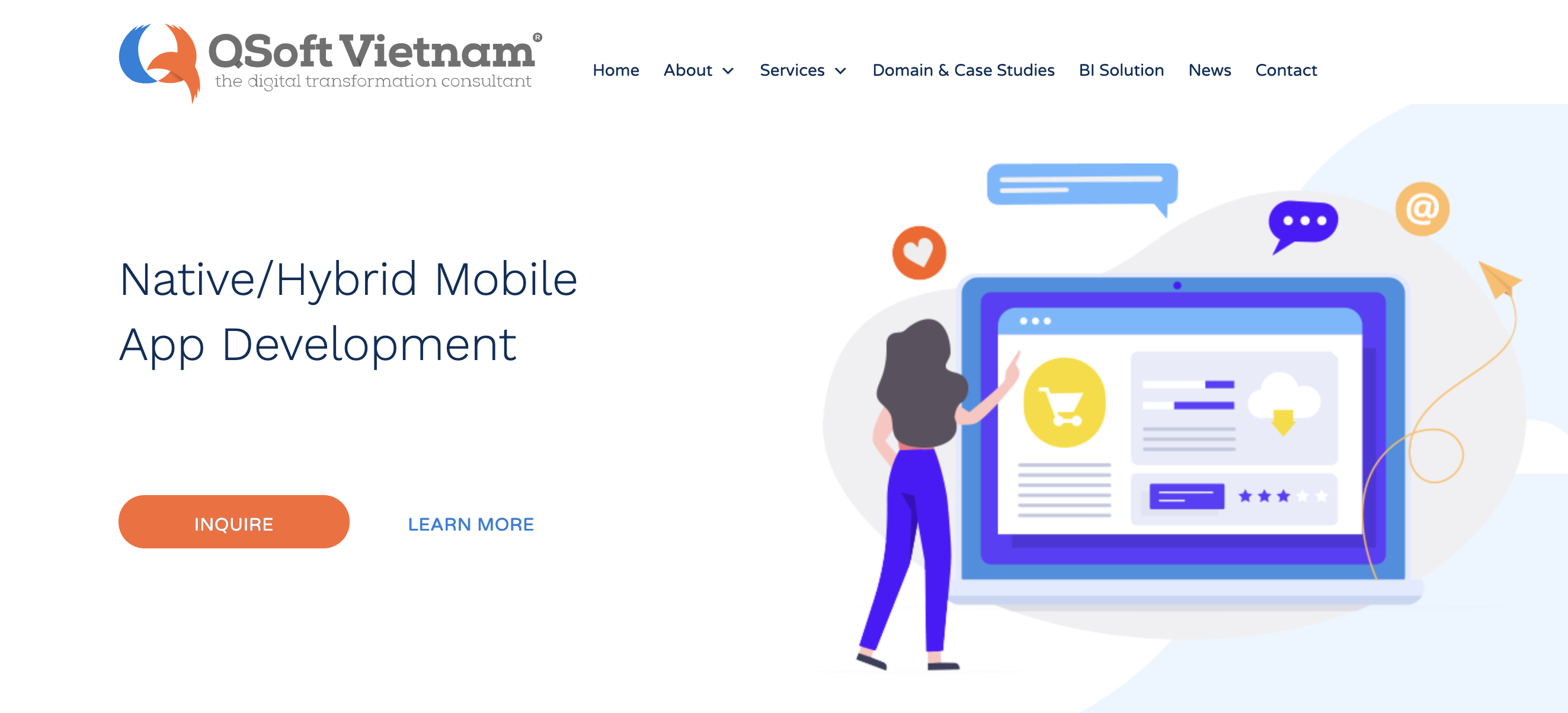 mobile application development, outsourcing company, software outsourcing