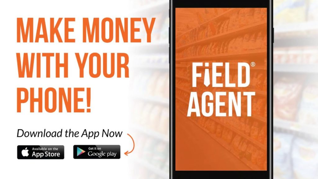 Field Agent, install app and earn money
