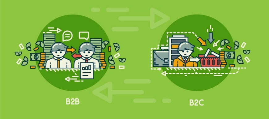 Difference between B2B eCommerce and B2C eCommerce
