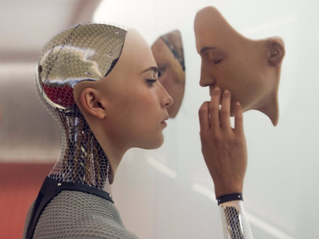 Ex Machina, one of the movies about humanoid robots.