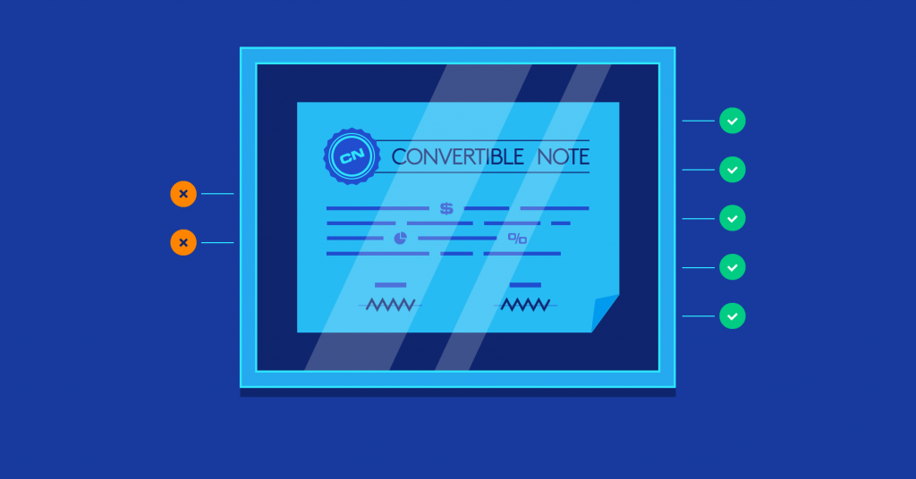 convertible note in startup funding