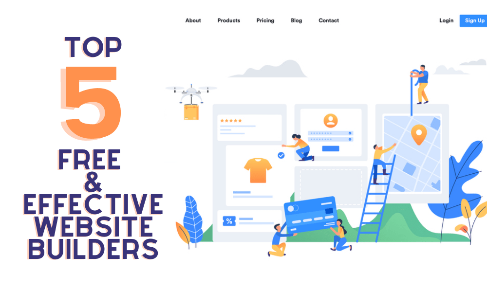 Make A Website With 5 Free & Effective Sites That Easy For You